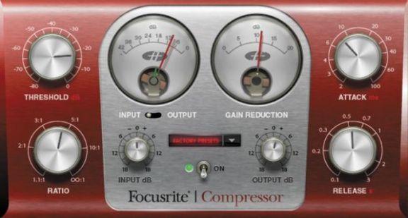 Focusrite-Compressor