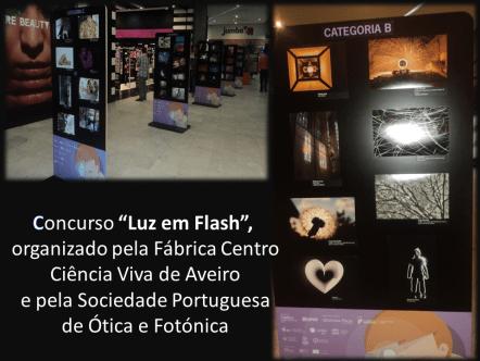 Exposição no centro comercial Glicínias, em Aveiro