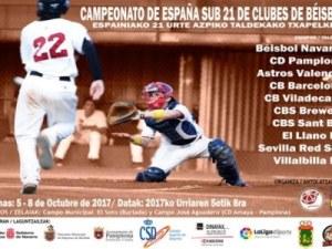 Béisbol Navarra campeón de España Sub21 de clubes de Béisbol