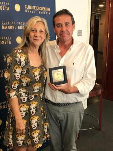 El Club de Encuentro entrega sus medallas a directores de medios de comunicación valencianos IV