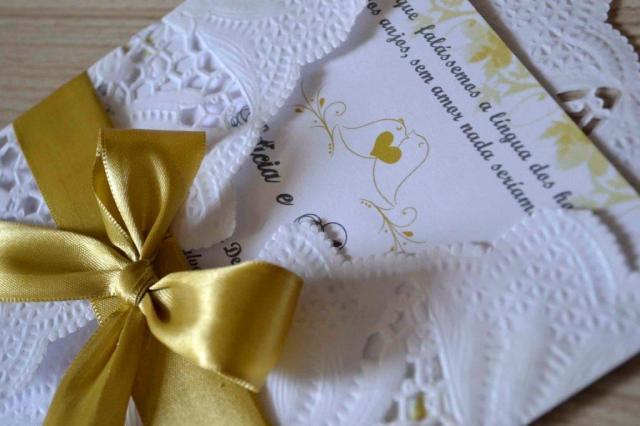 como criar um convite de casamento