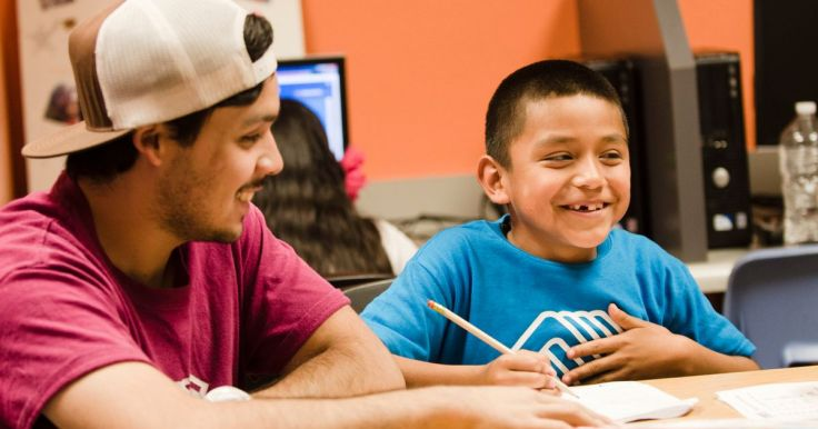Native Youth at The Lehi Boys and Girls Club in Mesa, Arizona 2013.jpg