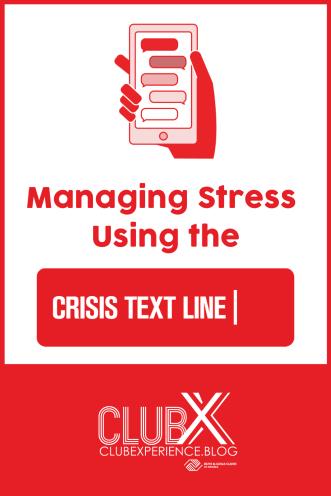 crisis text pin