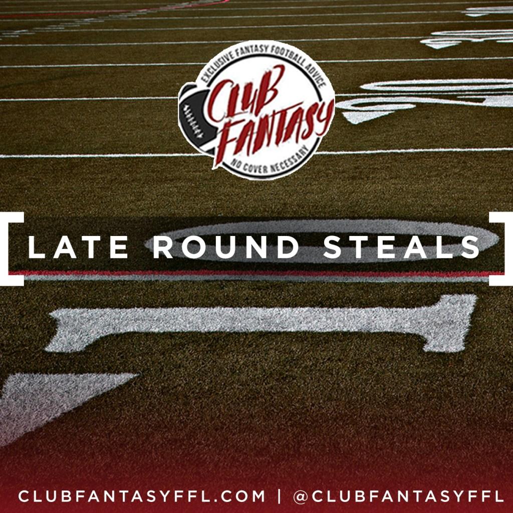 club fantasy ffl, late round steals, fantasy football sleepers, fantasy football tips