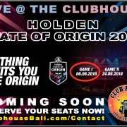 State of Origin Live At Clubhouse Bali