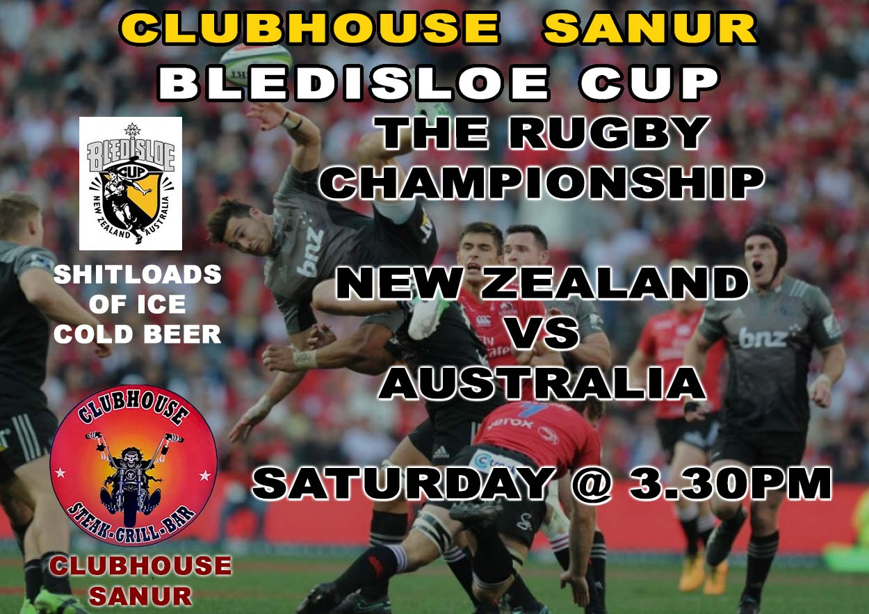 Clubhouse Sports Live Bledisloe Cup