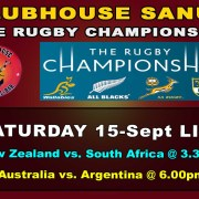 Clubhouse Sanur The Place to be for LIVE SPORTS in BALI - Rugby Championship