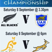 Clubhouse Steak Grill & Bar Sanur The Rugby Championship