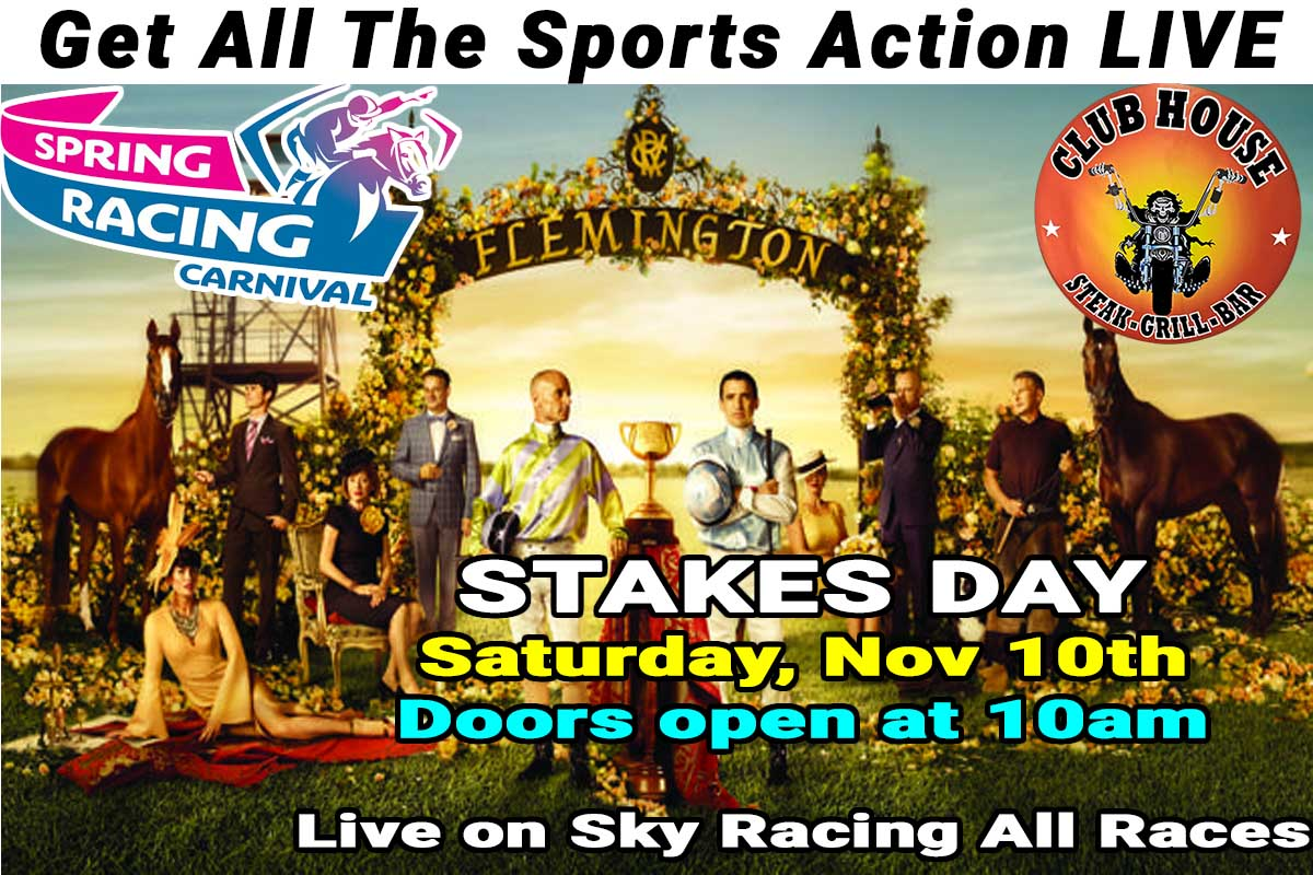 STAKES DAY LIVE AT CLUBHOUSE SANUR