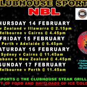Clubhouse Steak Grill & Bar Sanur NBL Action