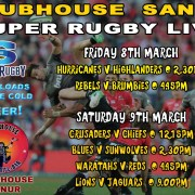Clubhouse Sanur Sports Super Rugby