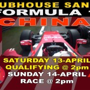 F1 CHINA LIVE CLUBHOUSE SANUR
