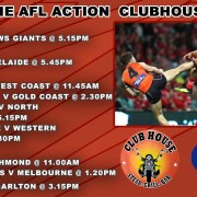 AFl Live at the Clubhouse in Sanur