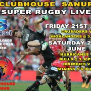 The Clubhouse Sanur Presents SUPER RUGBY Live in Bali