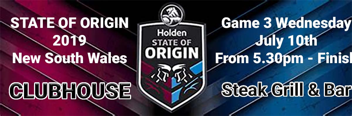 Clubhouse State of Origin Game 3 2019 LIVE