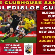 Bledisloe Cup @ Clubhouse Sanur The Rugby Championship