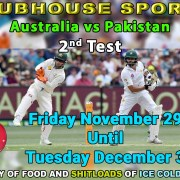 LIVE SPORTS BALI - Australia vs Pakistan 2nd Test