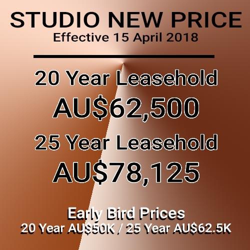Clubhouse Condos New Pricing Studio Unit