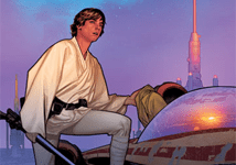 COVER: Luke Skywalker, Last Hope for the Galaxy