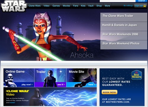 The new StarWars.com