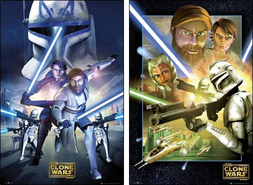POSTERS: The Clone Wars