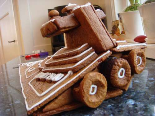 Gingerbread Star Destroyer