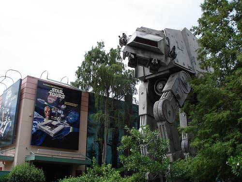 'Star Tours & AT-AT' by travelinlibrarian @ Flickr
