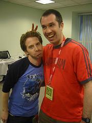 Seth Green and Matthew Senreich | Photo by Bonnie Burton | starwarsblog @ Flickr.com