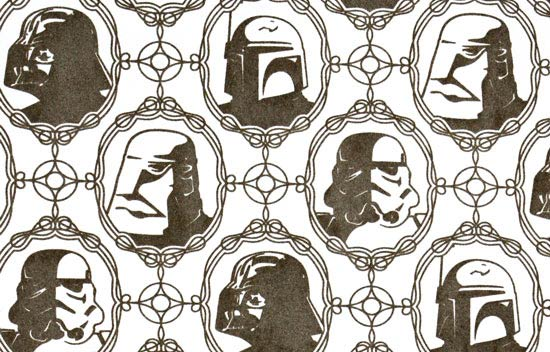 Wacky merchandise: Star Wars wallpaper