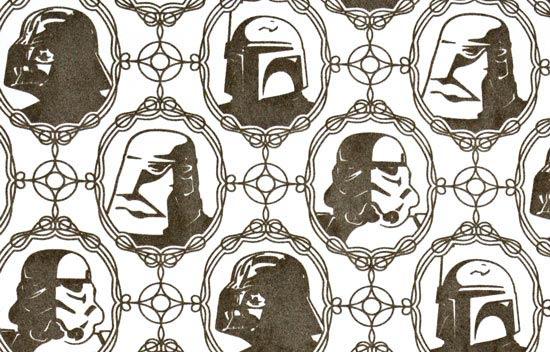 Wacky Merchandise Star Wars Wallpaper Club Jade