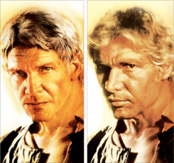 One Han, Two Hans. New version is on the left.