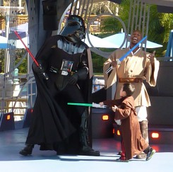 Jedi Training at Disneyland