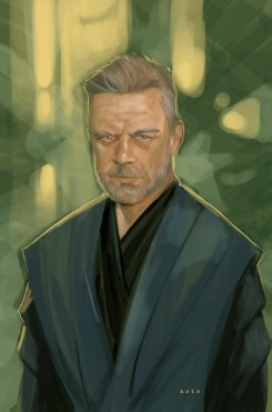 Phil Noto's Jedi Master Luke Skywalker