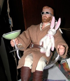 Obi-Wan after a Mary drink