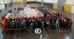 @starwars: A most impressive gathering of @501stLegion members at #StarWarsCelebration!