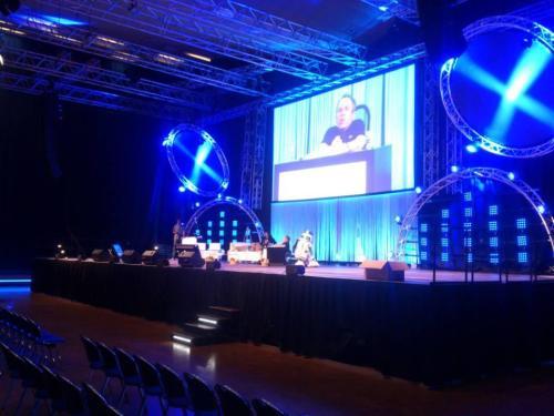 @jamesjawa: Rehearsing on Thursday at the Celebration stage at #StarWarsCelebration - it's Warwick Davis! pic.twitter.com/Kx1TWLleS7
