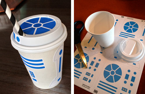 Artoo cups by Lindsay Smith (iloveflyboys.wordpress.com)