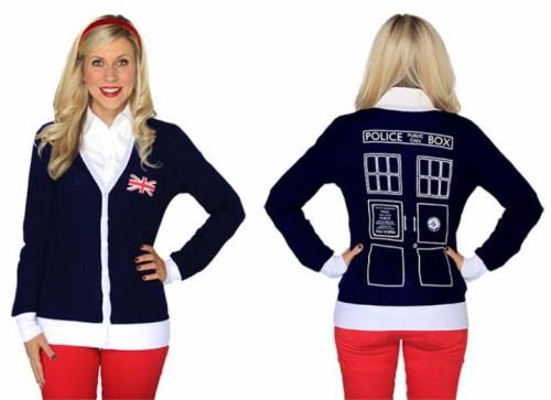 Her Universe TARDIS cardigan