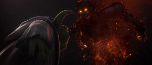 TCW: Lost Missions Trailer #1 (Lava creature)