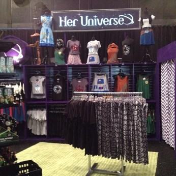 Her Universe boutique at Darth's Mall