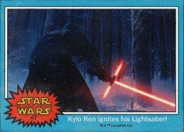 TFA trading card: Kylo Ren (Adam Driver?)