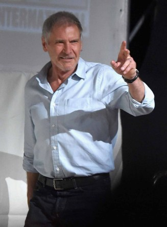 TFA @ SDCC: Harrison Ford, walking