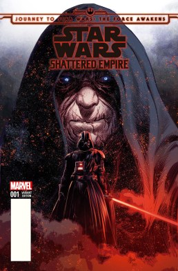 Journey to the Force Awakens: Shattered Empire #1 (Comic Pop Collectibles variant)