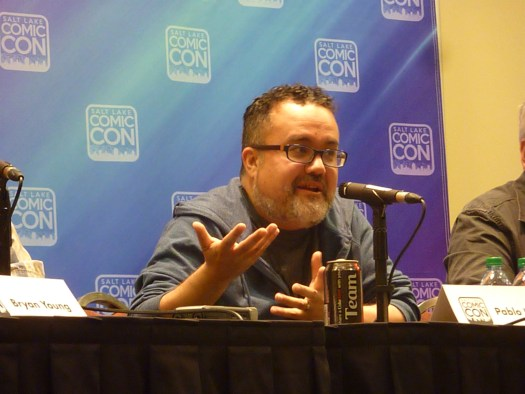 Pablo Hidalgo at Salt Lake Comic Con