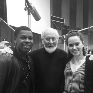 daisyridley: JOHN WILLIAMS!!!!!!!!!!!! Today is incredible