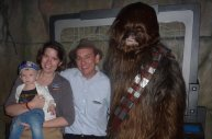 Meeting Chewbacca