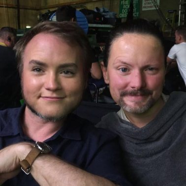 Daisy Ridley / Rian Johnson faceswap