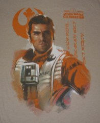 SWCE 2016 Poe Dameron Badge Art tee