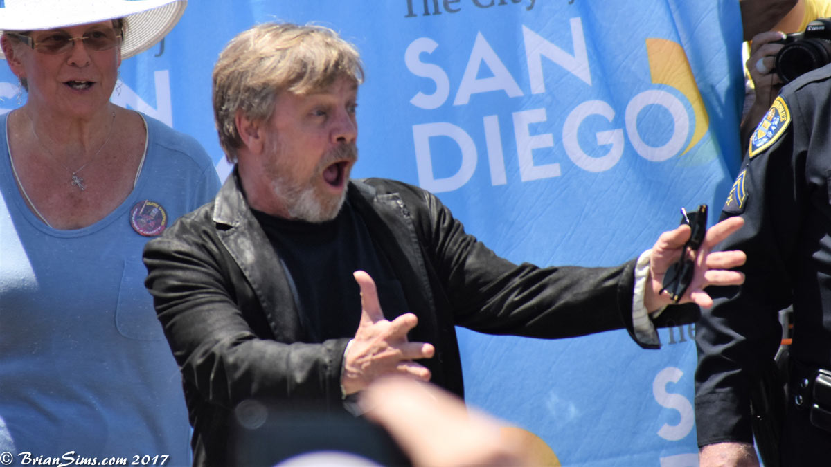 Новости Звездных Войн (Star Wars news): Марк Хэмилл получил свою улицу