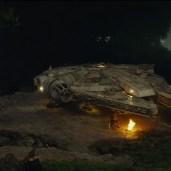 Chewbacca camping Rey (TLJ BTS)